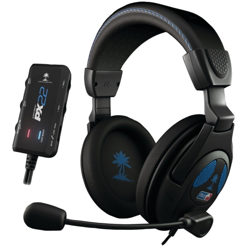 how to use turtle beach px22 on ps4