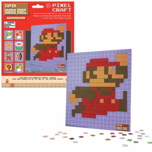 NINTENDO - Super Mario Bros. Pixel Craft