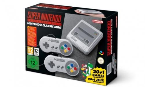 Console Mini  Super NES (NINTENDO CLASSIC)  - sous réserve de dispo !
