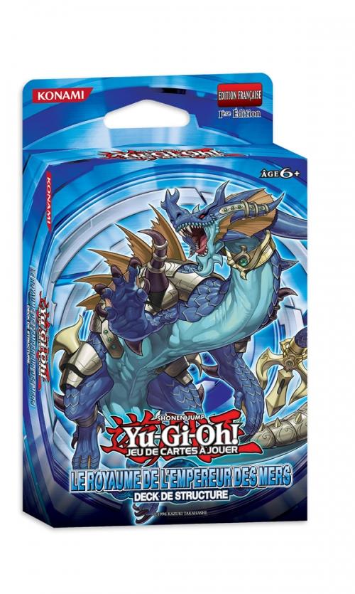 Yu-Gi-Oh! Royaume de l'empereur des mers Deck de Structure